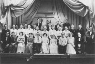Northern Lights Concert Party 1948-9.