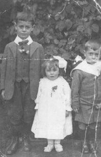 Les Cook, Elsie Cook, Bert Cook.