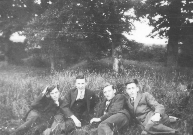 Four Lads in the country.
