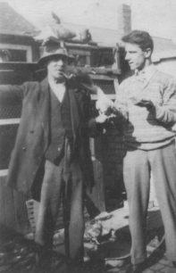 Mr Craddock with Bert