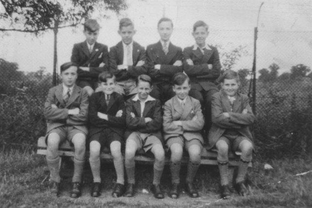 St James Church Boys Club in 1948