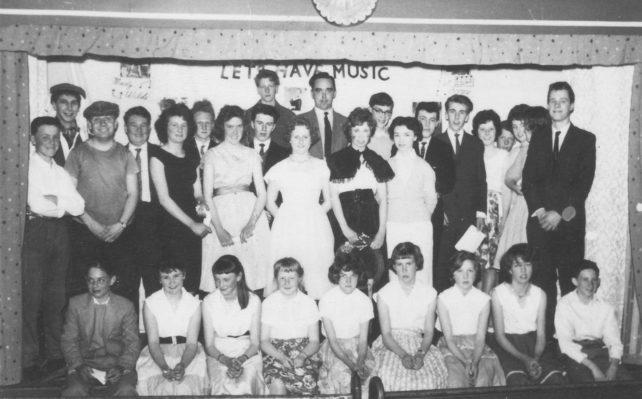 1960 concert by Methodist Church Youth Club