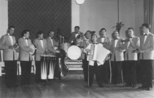 Mid-1950s Tommy Clarridge Latin American Band