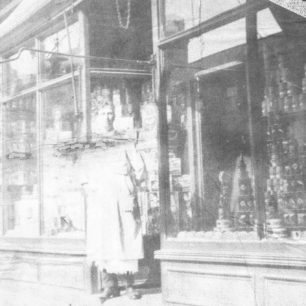 Mr Casebrook  manager of Co-op in High Street in 1920
