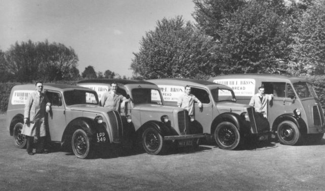Faithfull's delivery vans early 50s.