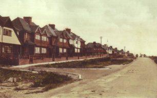 West View along Bradwell Road, New Bradwell.
