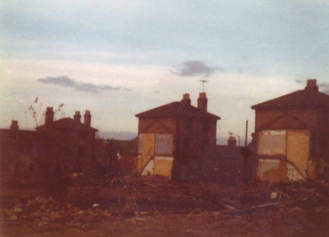First Company houses demolished.