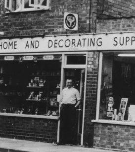 Hiorns DIY shop, St Mary St, New Bradwell.