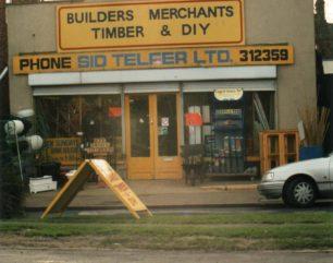 Sid Telfer Ltd (Builders Merchants, Timber and DIY shop), Newport Road