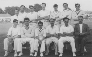 New Bradwell Cricket Club, early 1950s