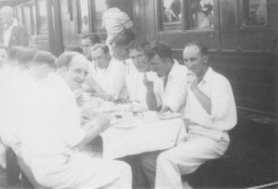Tea Time at the Cricket Club