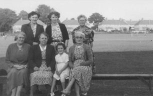 Tea Time at the Cricket Club (provided by wives and mothers of the players).