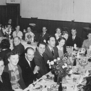 Annual dinner of the Cricket Club at the Bowyer Hall