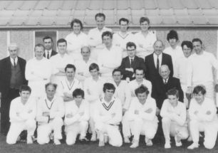 New Bradwell Cricket Team, early 1970s