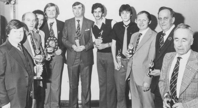 New Bradwell Cricket Team Awards Presentation 1979