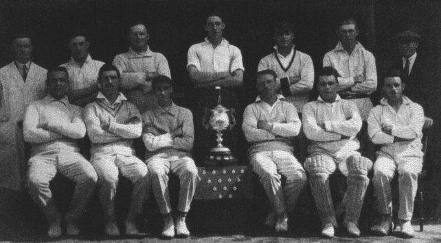 1979 New Bradwell Cricket Club.