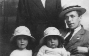 Mr & Mrs Stephenson and daughters Mabel & Marion