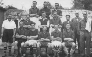 An Old Bradwell Football Team, late 1940s.