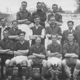 An Old Bradwell Football Team