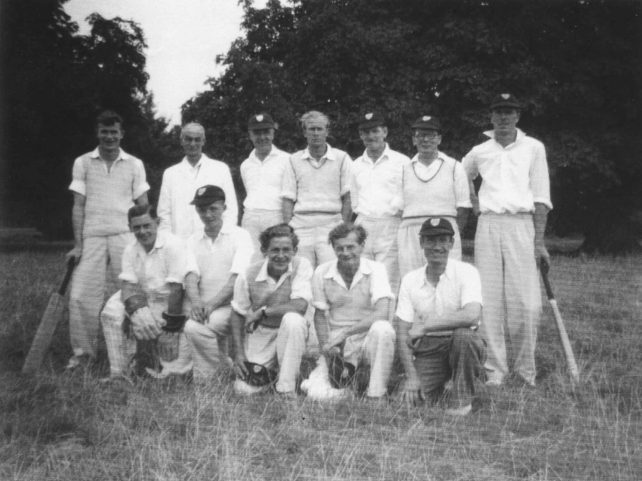 Old Bradwell Cricket Team