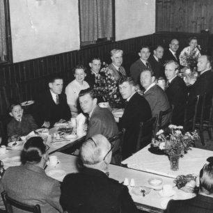 1952 Old Bradwell Cricket Club Dinner.