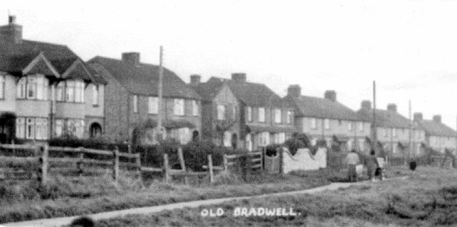 Houses in Bradwell Road