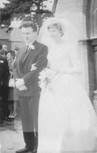 Wedding Couple - Sylvia & Tony Mead