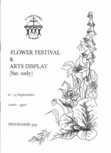 Flower Festival & Arts Display