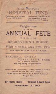 25th Annual Fete, 1939