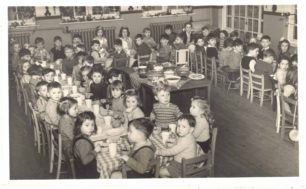 Post-war celebration, Bletchley Road School at Spurgeon Memorial Baptist Church
