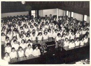 Leon Choir in Spurgeon Memorial Baptist Church on Prizegiving Day