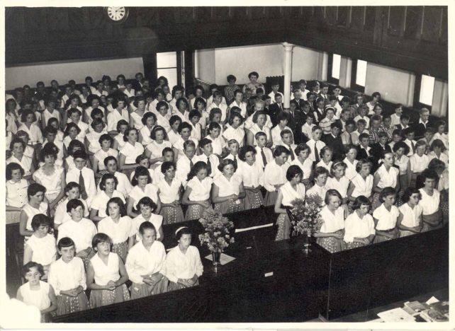 Leon Choir in Spurgeon Memorial Baptist Church on Prizegiving Day