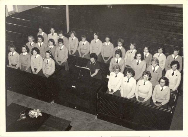 Old Leon Choir preparing for Speech Day