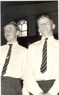 Graham Philips and Terry Creegan