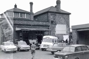 Bletchley Head Post Office next to the railway station - probably 1960s