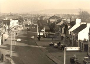 Bletchley Road viewed from the flyover - 1960s