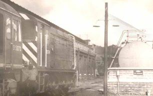 Diesel engines at Bletchley