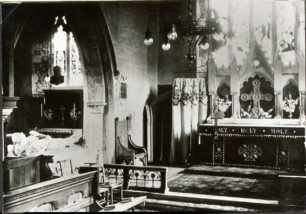 The De Grey tomb inside St. Mary's church