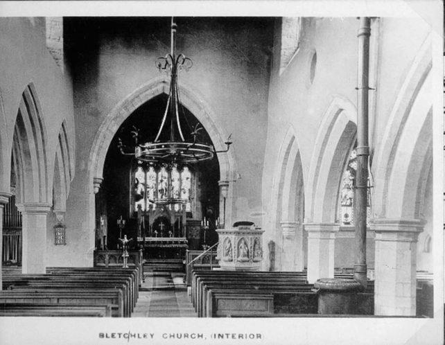 St. Mary's church interior