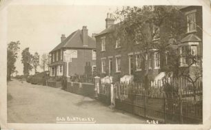 Shenley Rd. Terrace and Old Swan Inn