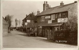 Chandler's Stores , Far Bletchley cross roads