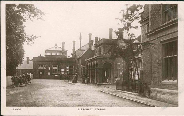 Bletchley Station