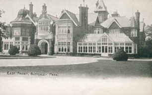 Bletchley Park Mansion, East Front
