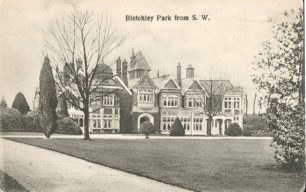 Bletchley Park Mansion, from South West