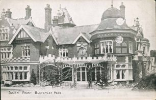 Bletchley Park Mansion, South Front