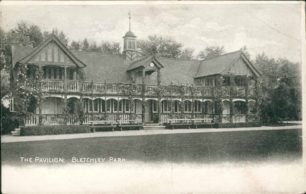 Bletchley Park Cricket Pavilion