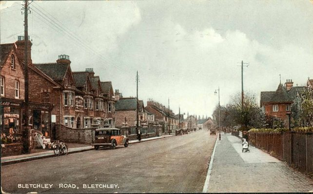 Bletchley Road with Pollard's
