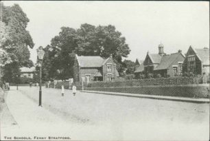 School house and Infants' School, Bletchley Road