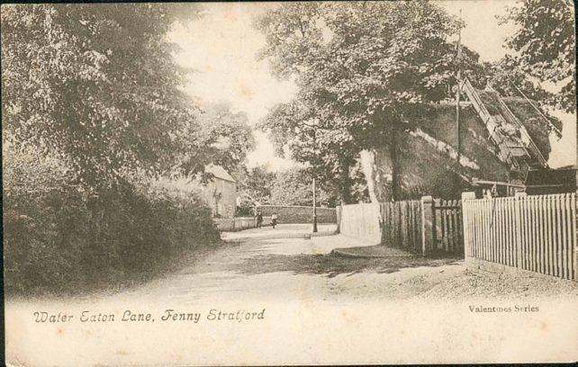 Water Eaton Lane (Manor Road) Fenny Stratford