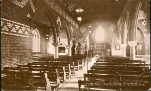 St. Martin's Church, Fenny Stratford, interior